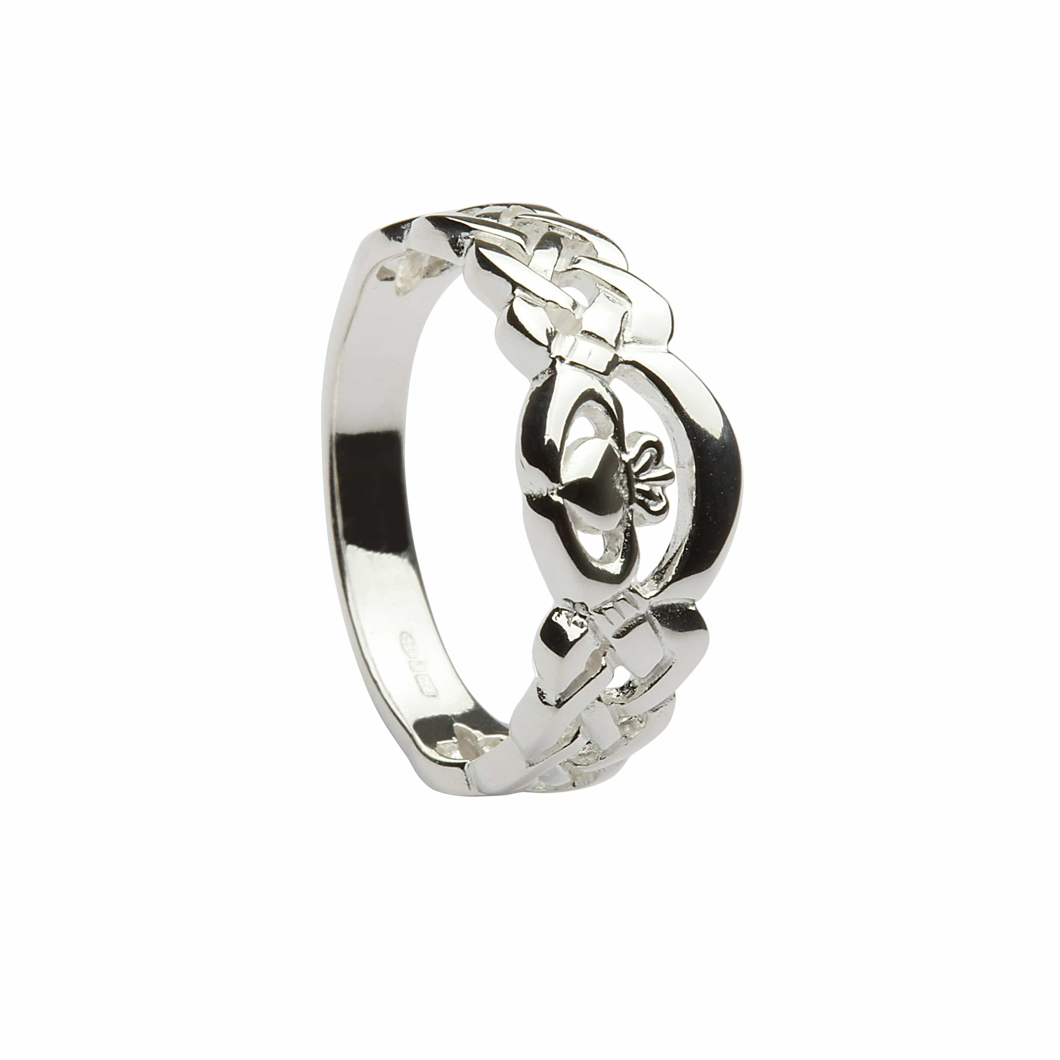 3600x3600 Silver Nua Claddagh Ring 1