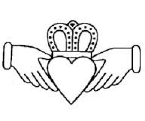500x416 The Claddagh Takes Its Name From The Place Of Its Birth A Fishing