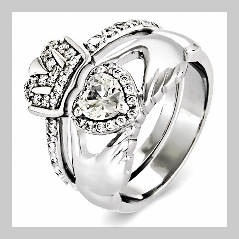 970x970 Wedding Ring Claddagh Wedding Ring Sets Custom Claddagh Wedding