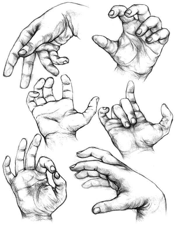 600x776 Hands Clapping Loud Coloring Pages Best Place To Color