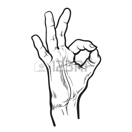 450x450 Isolated On White Background Hands Clap Their Palms, The Two
