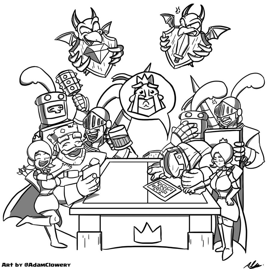 Clash Royale Drawing At Getdrawings Free Download