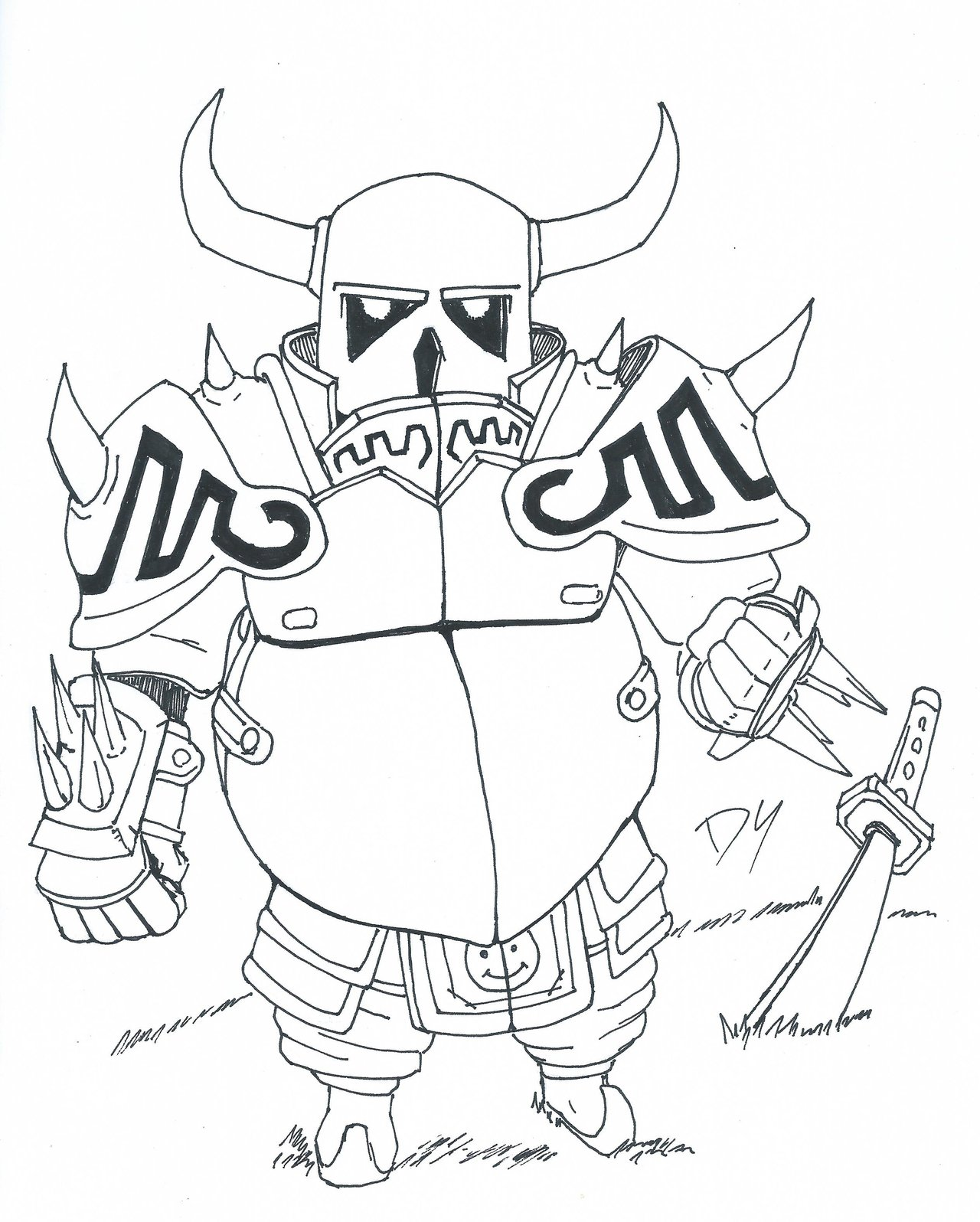 The Best Free Pekka Drawing Images Download From 9 Free