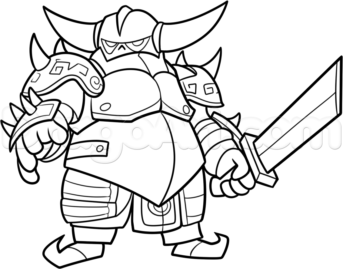 1132x887 Clash Clans How To Draw Royale Coloring Pages