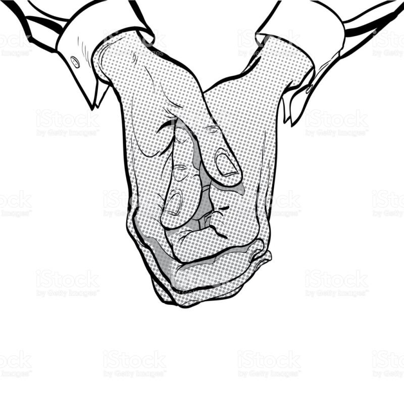 800x799 Clasped Hands Clipart
