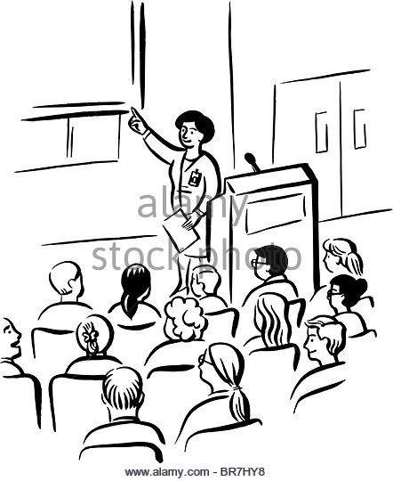 442x540 Student Talking Class Podium Stock Photos Amp Student Talking Class