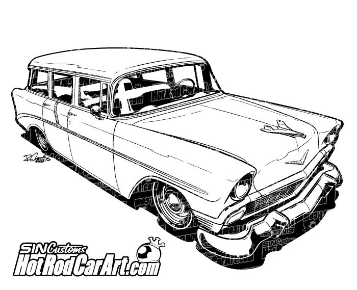 classic muscle car clipart at getdrawings com