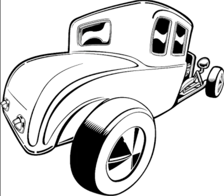 1501x1317 Pin By Guy Crennan On Cars Car Drawings, Rat Fink