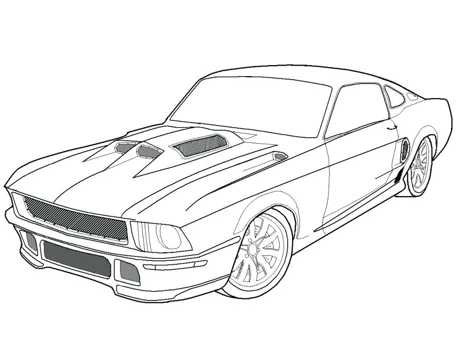 940x705 Classic Cars Coloring Pages Classic Car Color Pages