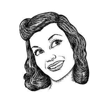 300x300 Classic Women Drawing By Karl Addison