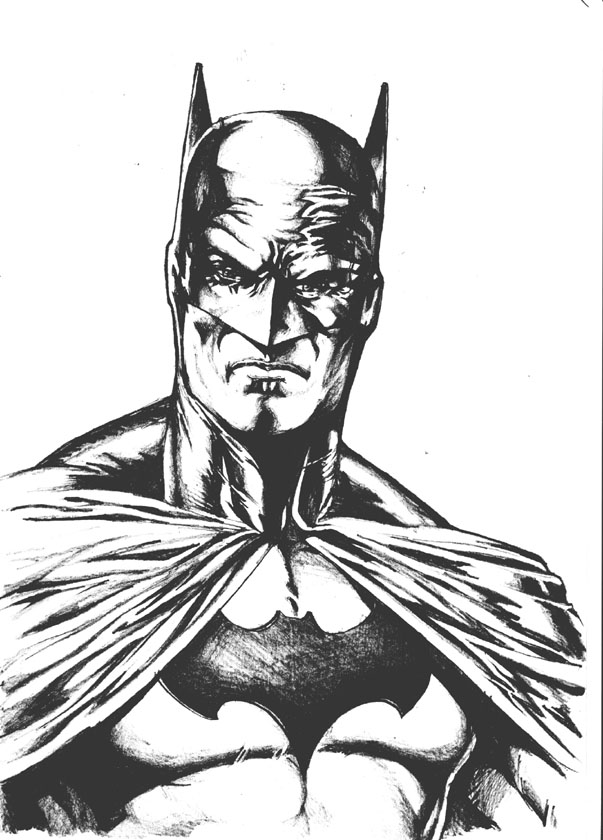 603x840 Classic Batman By Reybronx