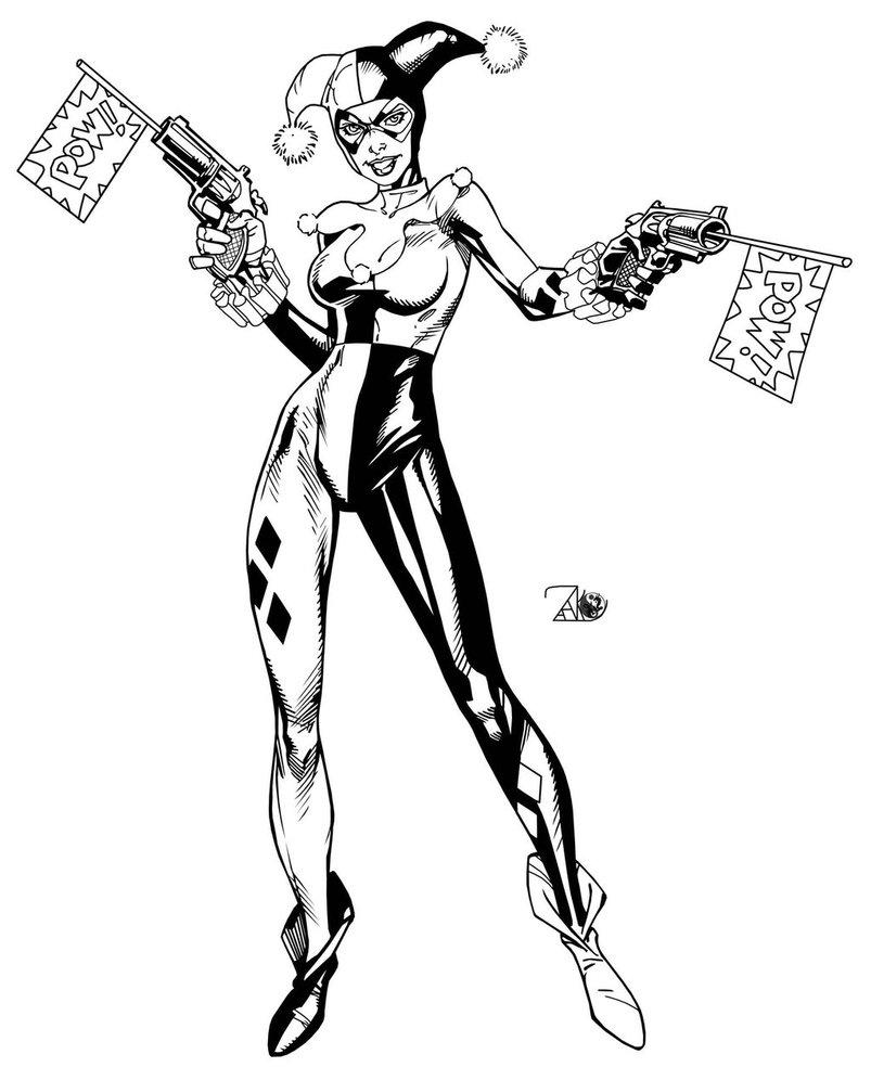 803x996 Harley Quinn Dc Comics By Randy Green By Newerastudios