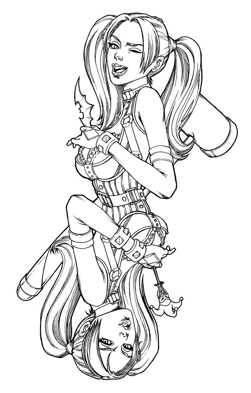 714x1119 Harley Quinn By Keatopia