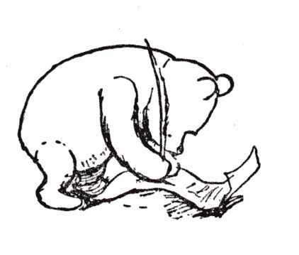 422x359 Image Result For Classic Winnie The Pooh Black And White Aria