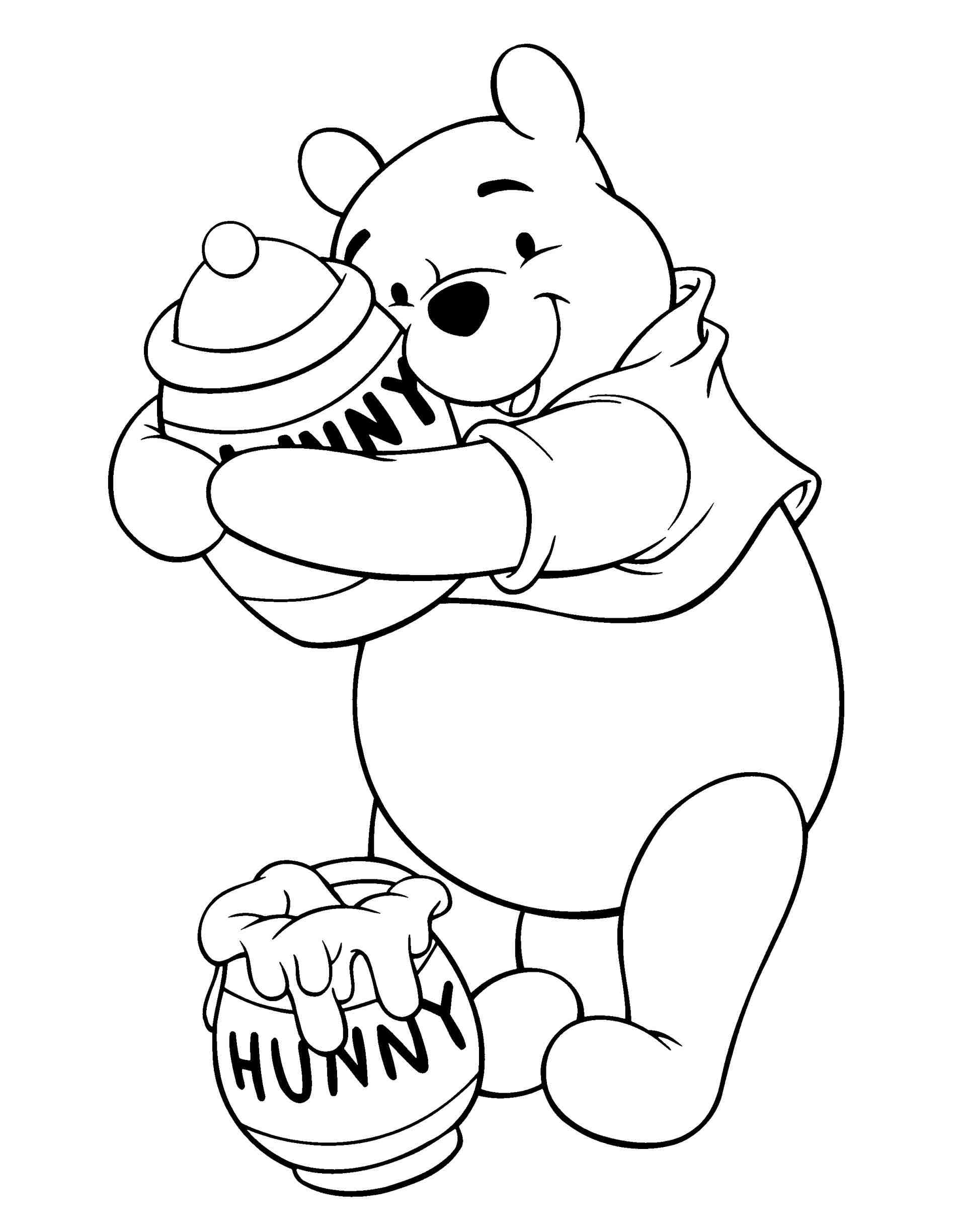 1896x2449 The Images Collection Of Draw Simple Winnie The Pooh