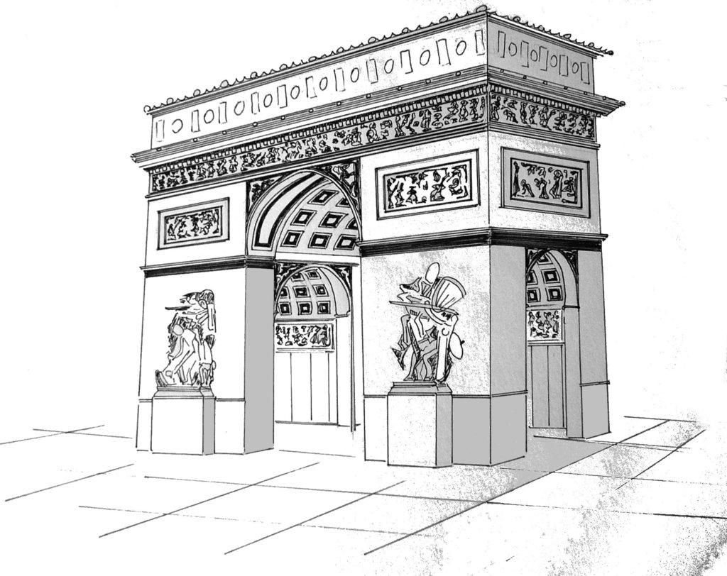 1024x812 Arc De Triomphe, Paris By Annelaurejousse