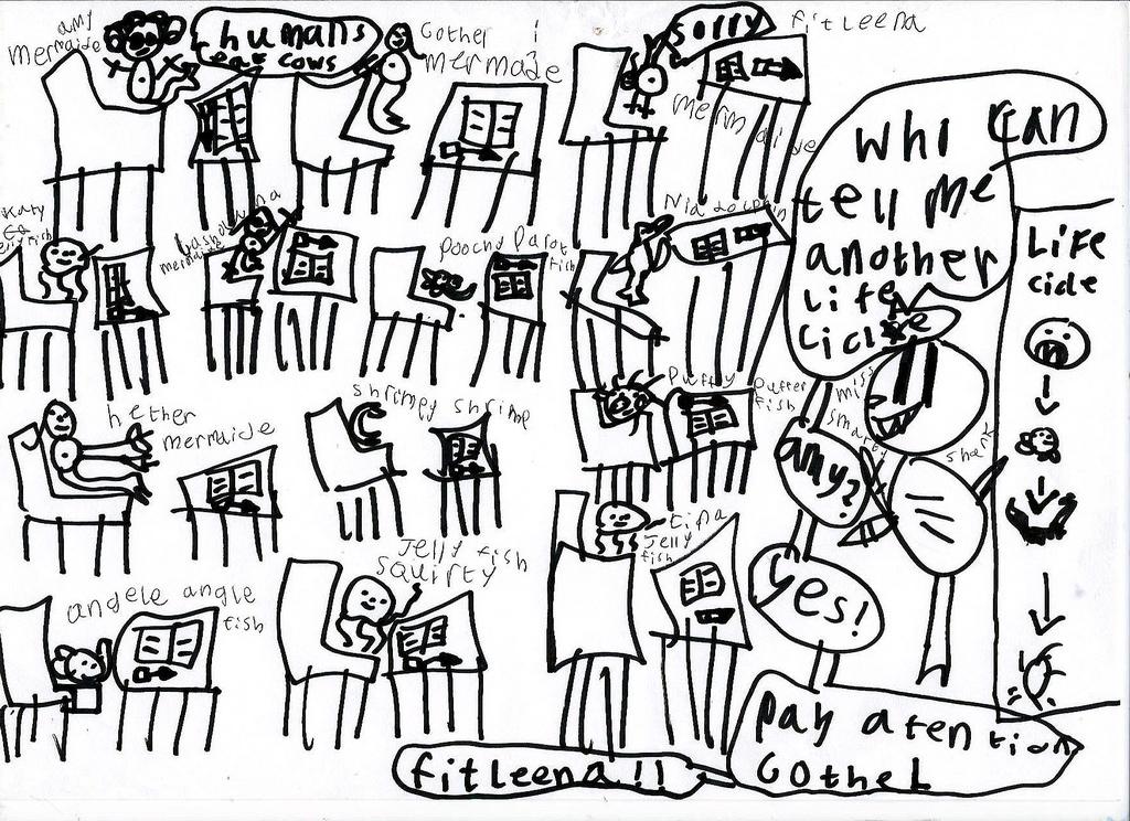 1024x744 Poesy's Classroom Drawing, The Office, Hackney, London,