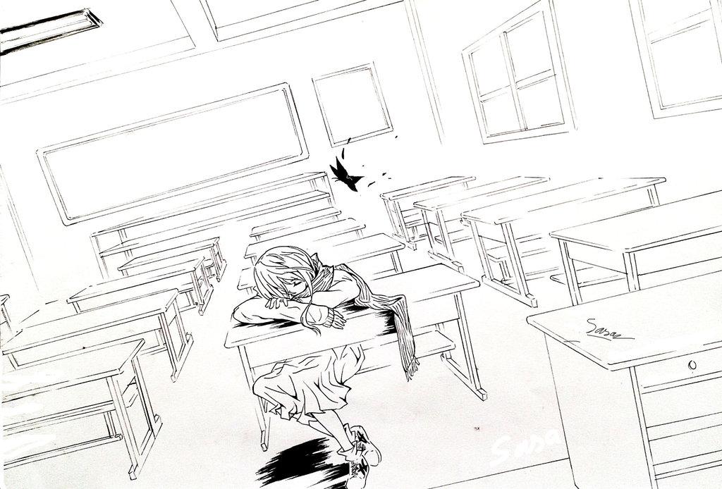1024x694 Empty Classroom By Sasasan91