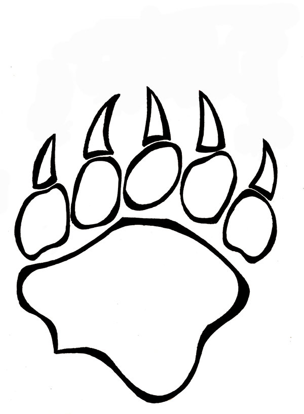 600x816 Bear Claw 1 By Purplesinger