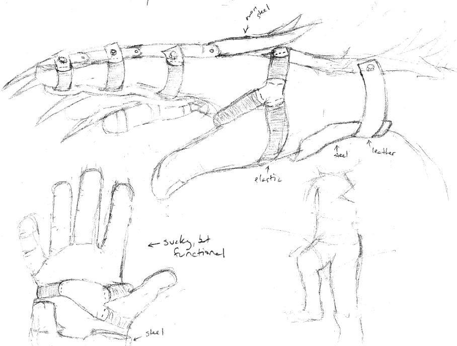908x688 Claw Glove By Brya
