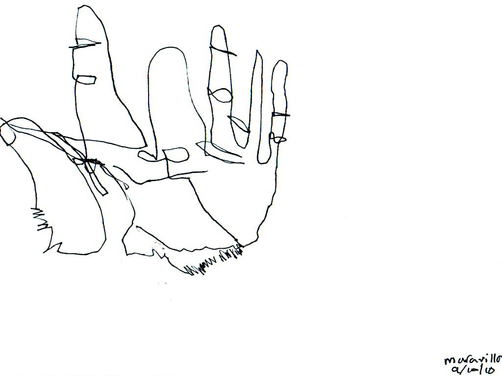 Claw Hand Drawing at GetDrawings.com   Free for personal use Claw ...