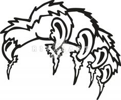 236x195 Image Detail For Tiger Claws Mascot Team Sports Decal. Let It