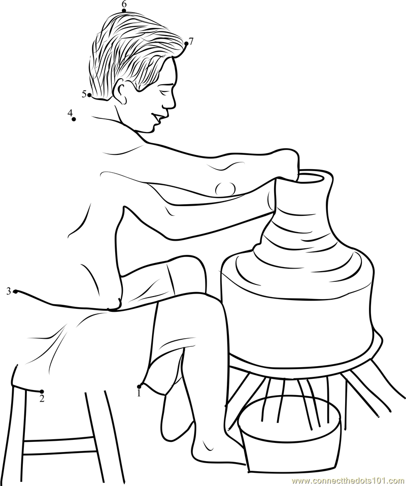 800x957 Clay Coloring Pages