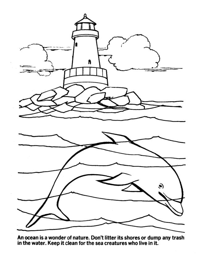How To Draw Ocean Day