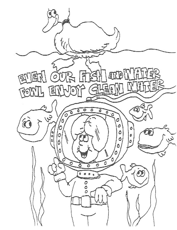 Clean Water Drawing at GetDrawings.com | Free for personal use Clean ...