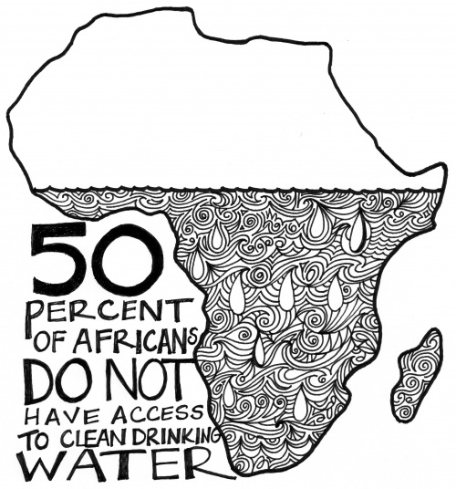 500x536 Access To Clean Drinking Water In Africa Drinking Water, Water