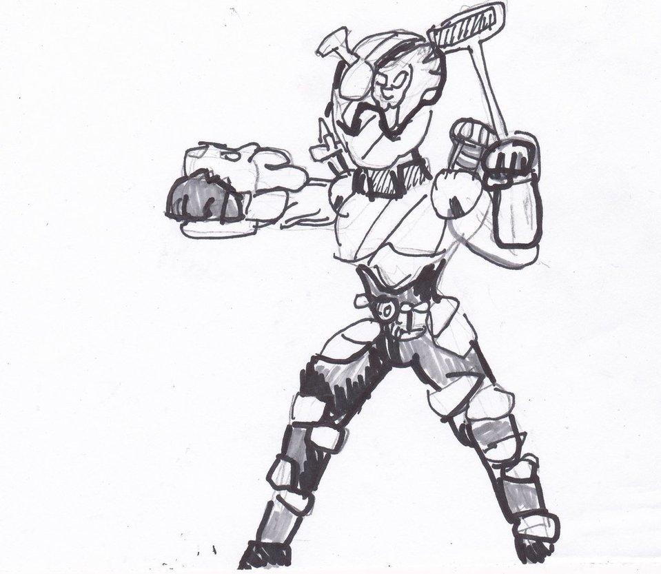 959x833 Lion Cleaner Kamen Rider Build Sketch By Cartoontriper