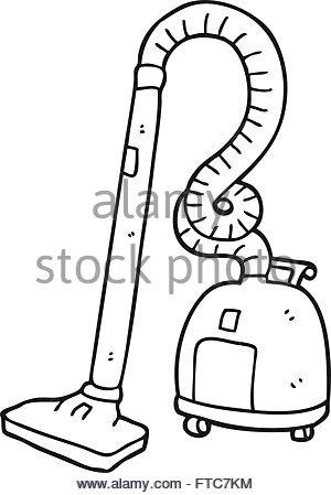 300x449 Freehand Drawn Cartoon Vacuum Cleaner Stock Vector Art