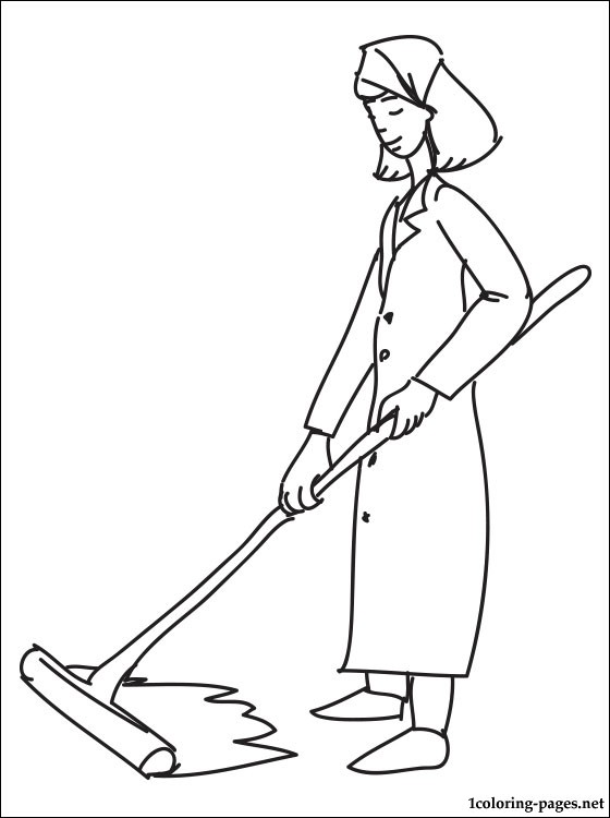560x750 Cleaner Coloring Page Coloring Pages