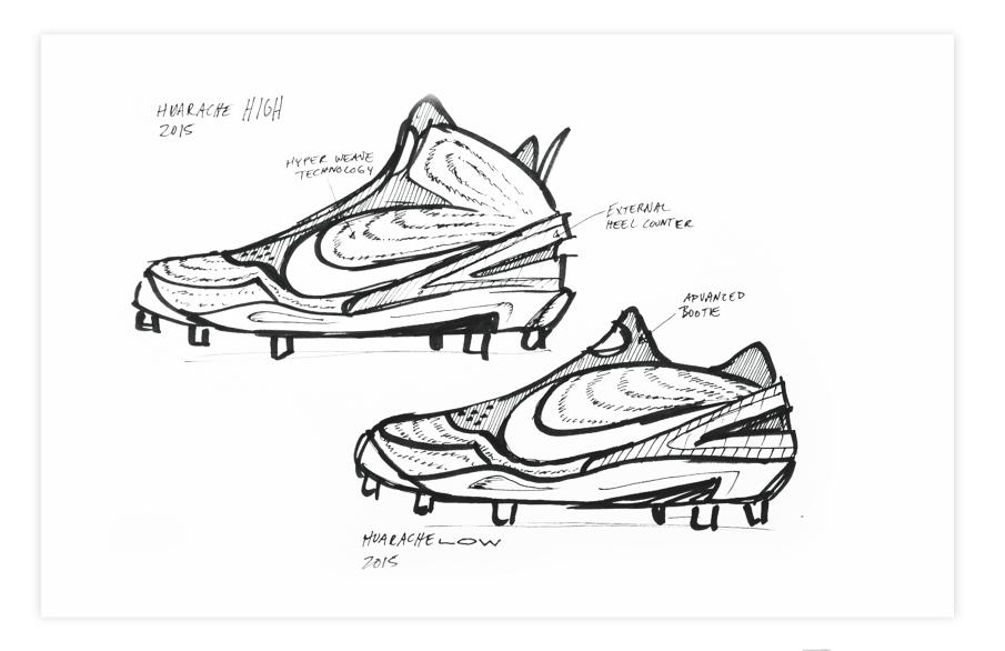 905x586 Nike Baseball Cleat Concept