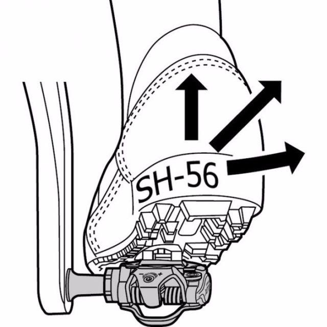 640x640 Shimano Sm Sh56 Spd Cleat Set