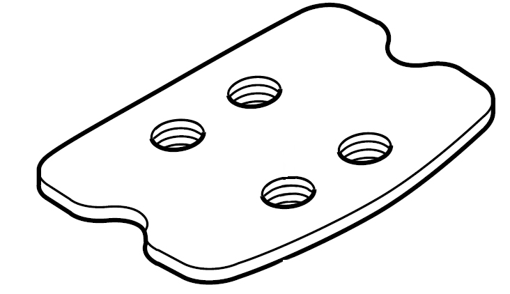 732x422 Shimano Cleat Nut (Sh A200) Pedal Cleats