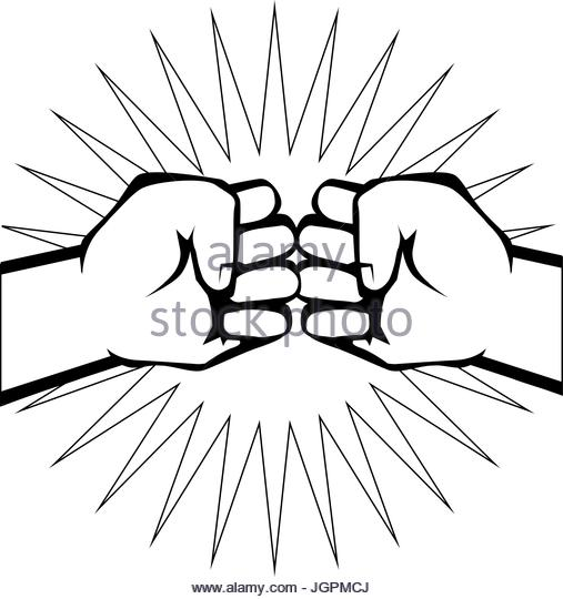 507x540 Fist Fight Icon Clenched Fist Stock Photos Amp Fist Fight Icon
