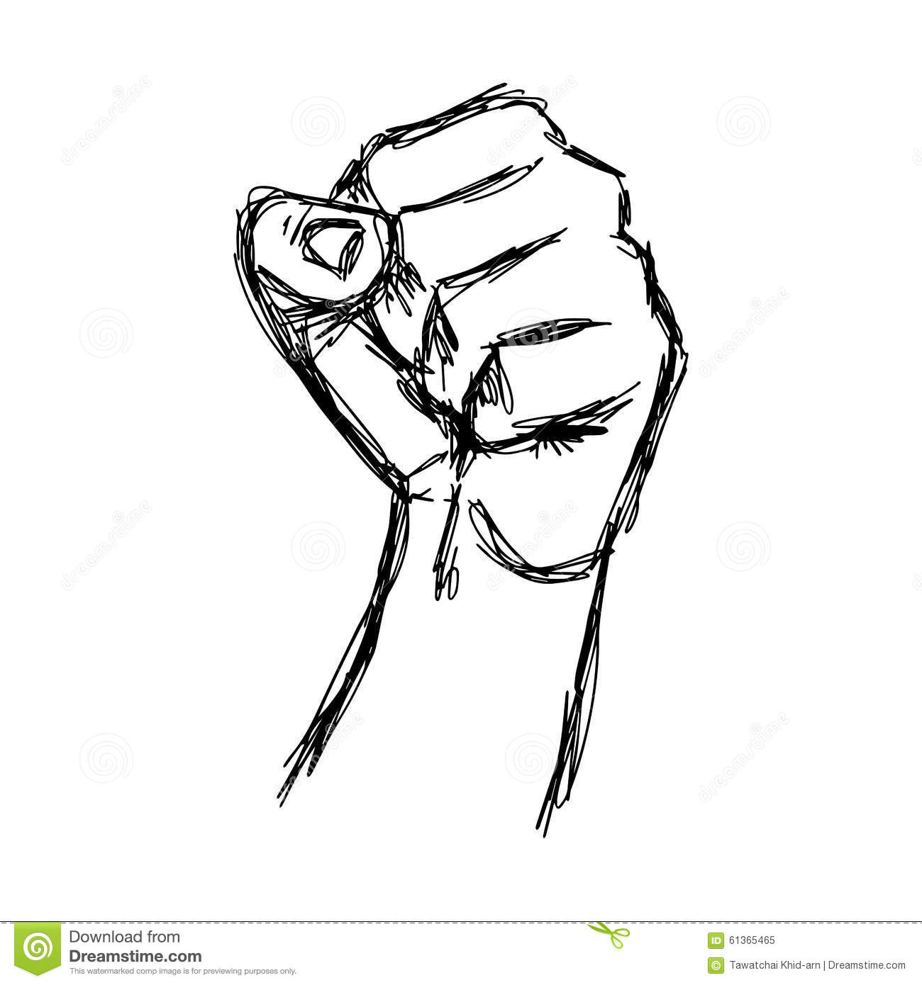 1300x1390 A Drawing Of A Fist Clenched Fist. Hand Clenched Fist. Hand