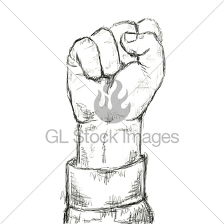 325x325 Clenched Fist Gl Stock Images