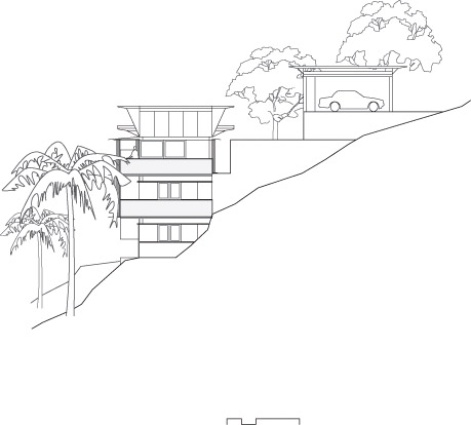 471x425 Cliff Face House By Fergus Scott Architects With Peter Stutchbury
