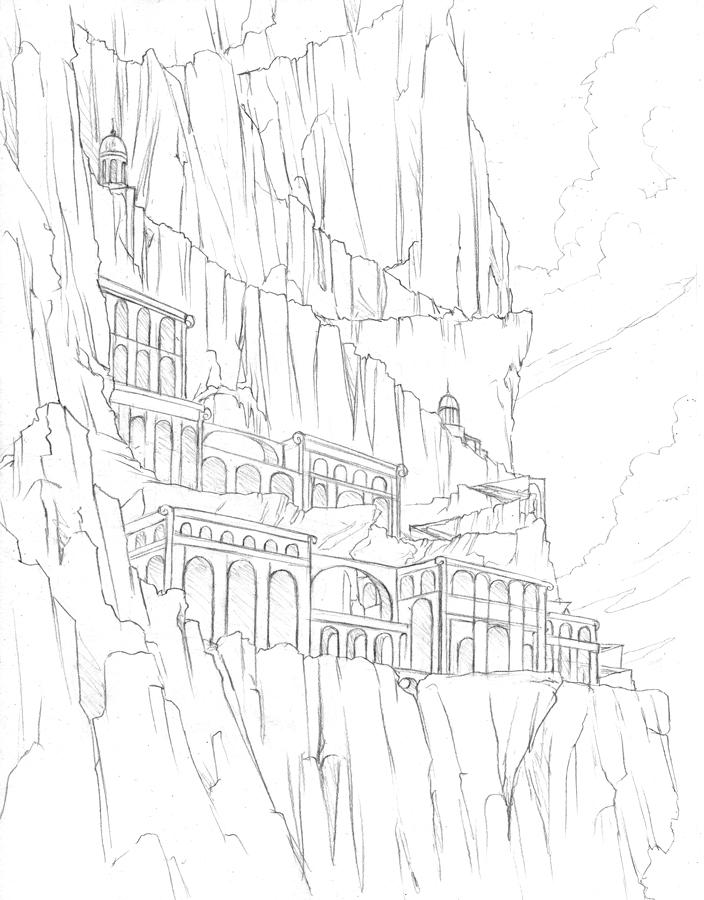 704x900 Cliff City By Hibbary