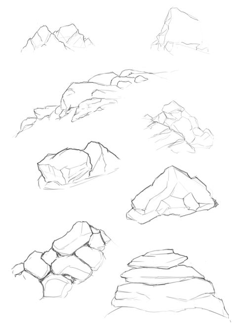 474x670 Rendering Rock Drawings. Please Also Visit Www