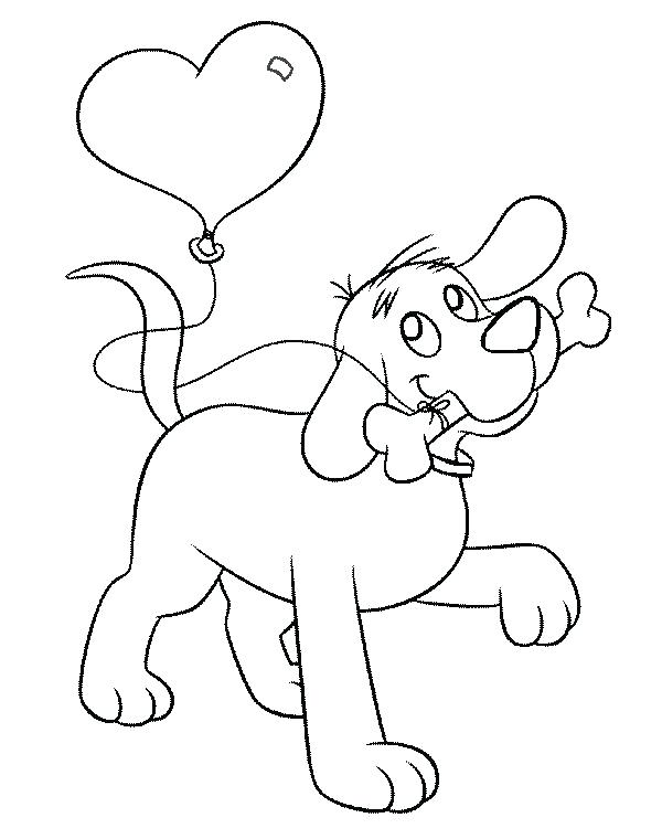 600x760 This Is Clifford The Big Red Dog Coloring Pages Images Astonishi