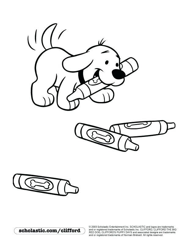 coloring pages of clifford - photo#16