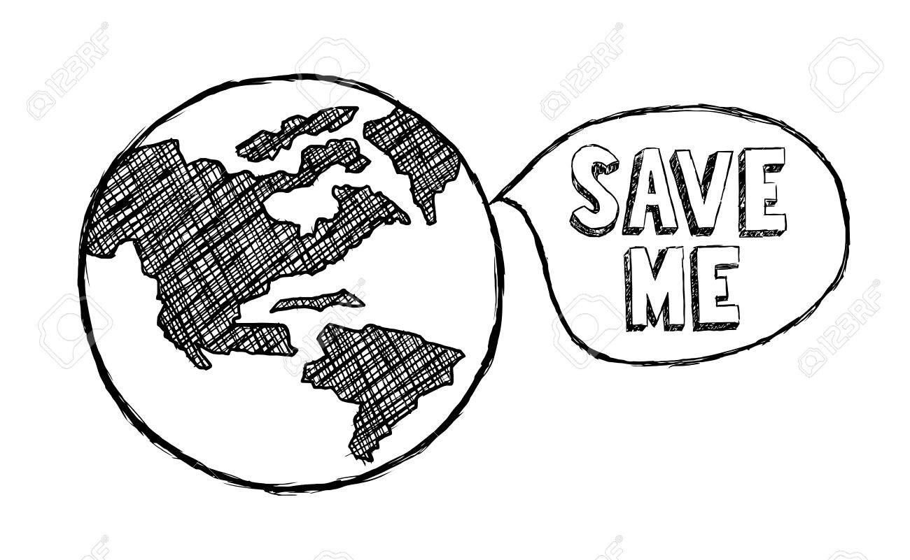 1300x801 Save The Earth, Climate Change, Ecology, Environment Royalty Free