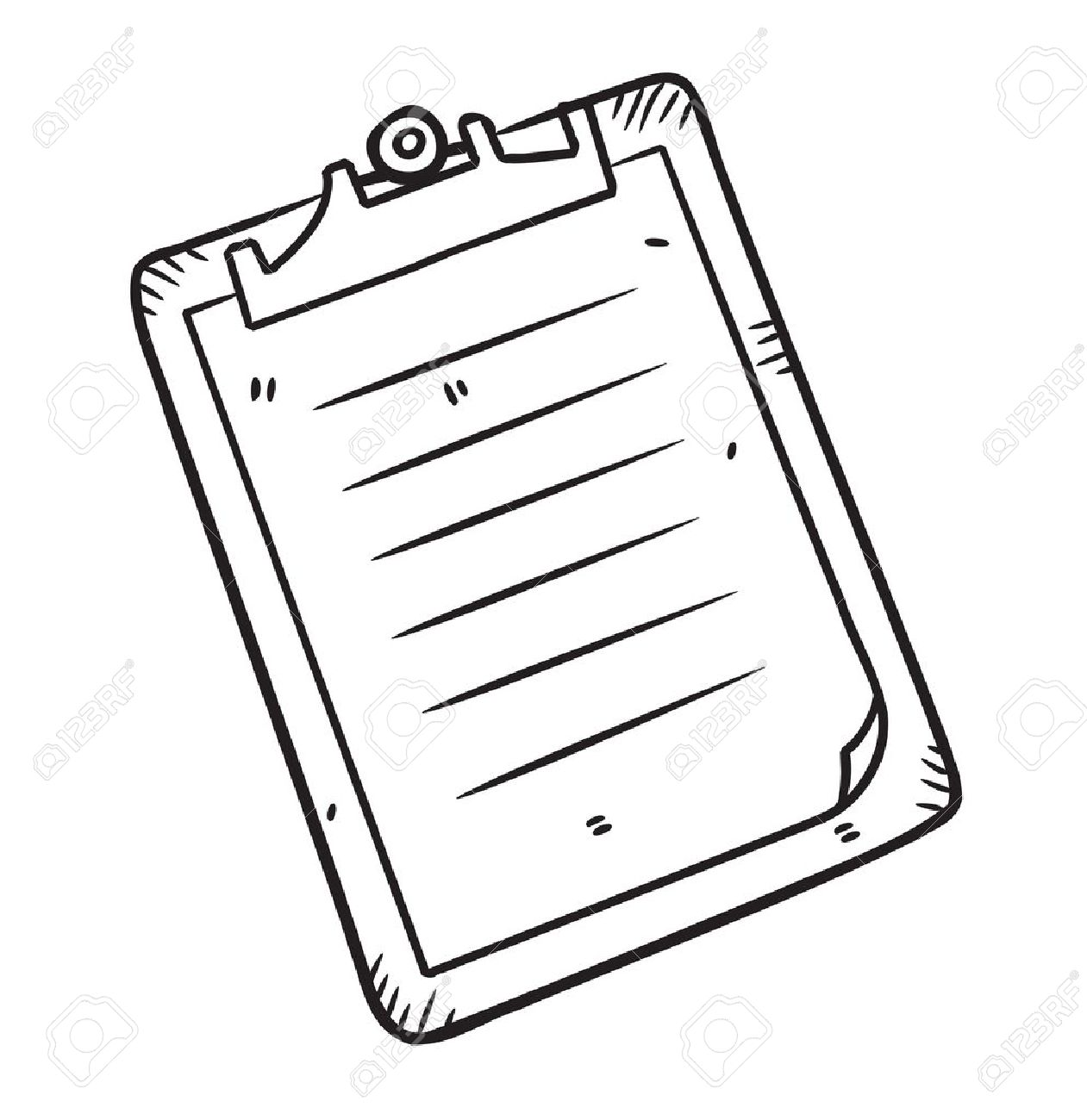 1261x1300 Clipboard In Doodle Style Royalty Free Cliparts, Vectors,