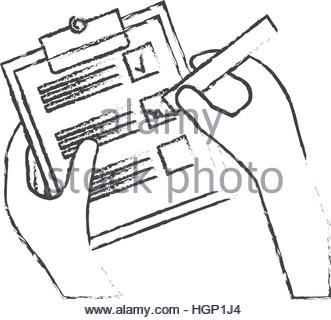 331x320 Blank Checklist On Clipboard Icon Image Vector Illustration Design