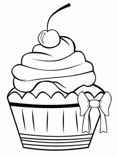 236x315 Cupcake Outline Clip Art You Are Here Home Graphics Food