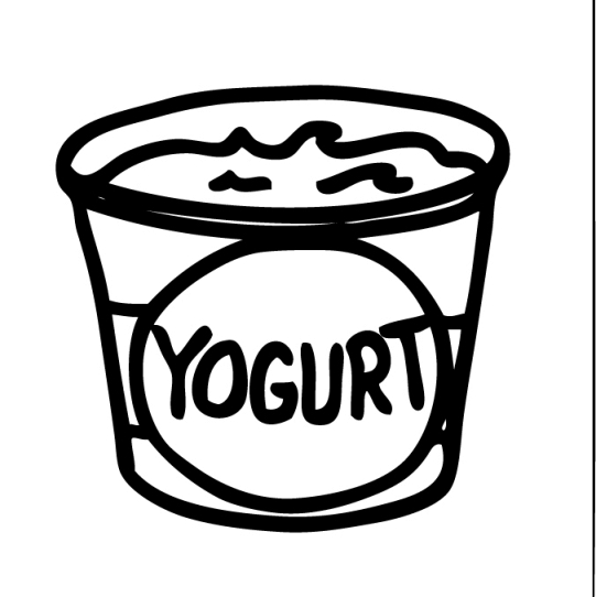 541x542 Yogurt Clipart Drawing Clipart Yogurt Pencil And In Color Drawing