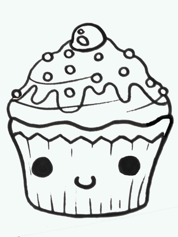 600x800 Cupcake Draw Free Download Clip Art Free Clip Art On Clipart Cute